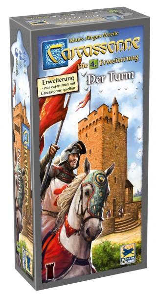 Carcassonne - Der Turm • Die 4. Erweiterung