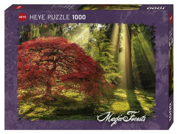 Puzzle: Magic Forests - Guiding Light (1000 Teile)