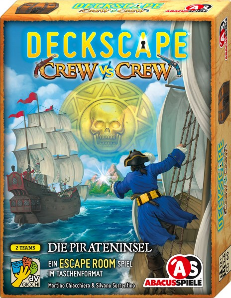 Deckscape - Crew vs Crew – Die Pirateninsel