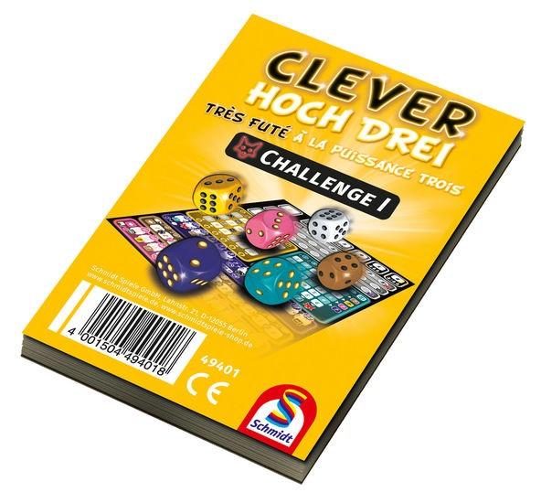 Clever hoch Drei – Challenge I