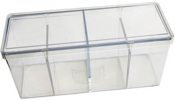 Dragon Shield: Gaming Box 4 Compartments (Klar)