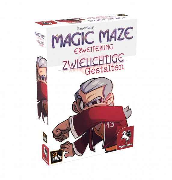 Magic Maze: Zwielichtige Gestalten (Erweiterung)