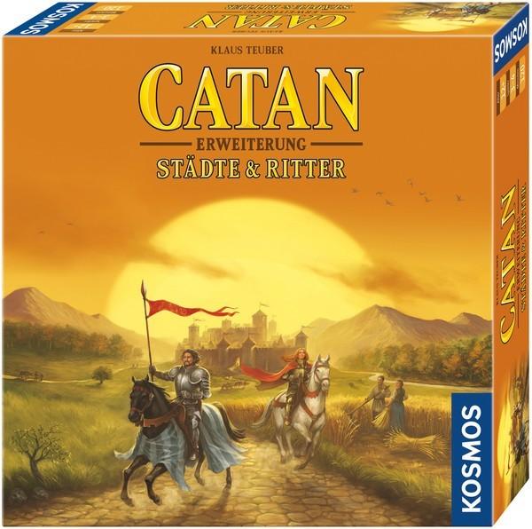 CATAN - Erweiterung - Städte & Ritter