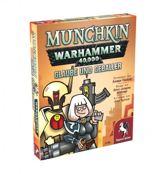 Munchkin Warhammer 40.000: Glaube und Geballer - Erweiterung