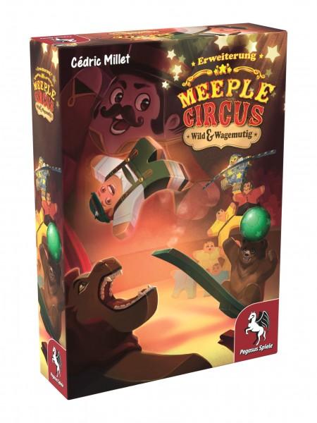 Meeple Circus: Wild & Wagemutig - Erweiterung