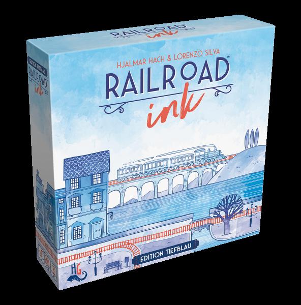 Railroad Ink: Edition Tiefblau