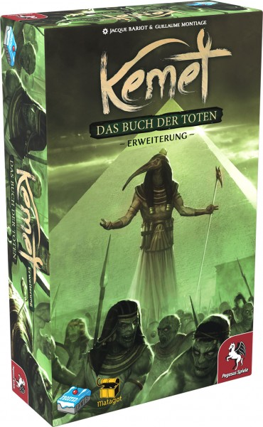 Kemet: Buch der Toten (Erweiterung) (Frosted Games) - DE