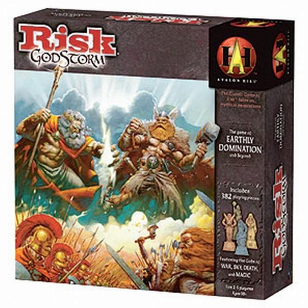 Risk: Godstorm (English)