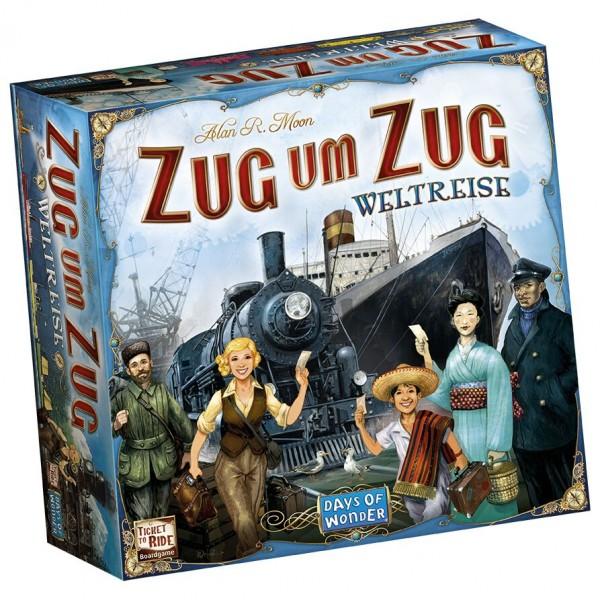 Zug um Zug: Weltreise • Grundspiel