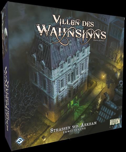 Villen des Wahnsinns 2.Ed. - Straßen von Arkham - Erweiterung DE