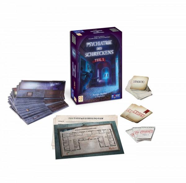 Psychiatrie des Schreckens - Bundle (Teil 1+2 in einer Box)