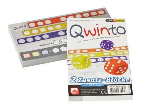 Qwinto - Zusatzblöcke (2er) DE