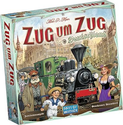 Zug um Zug - Deutschland Grundspiel