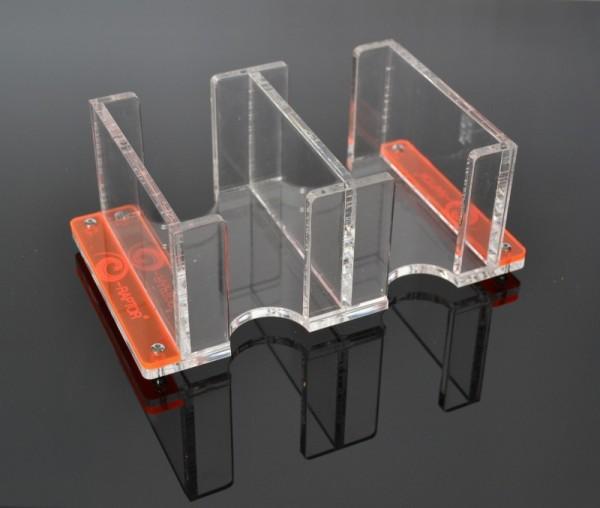Karten-Halter / Card Holder - 2L Solid transparent