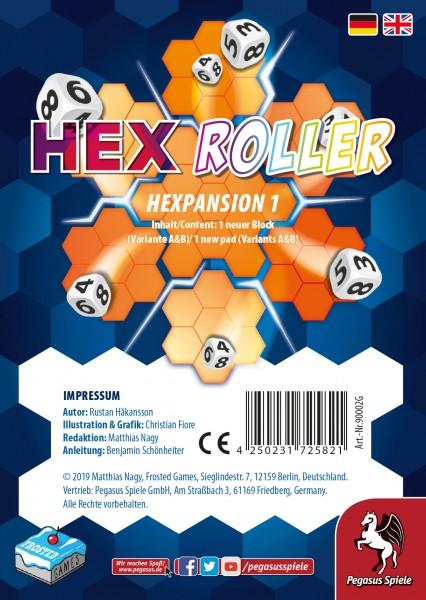HexRoller: Hexpansion 1 - Erweiterung