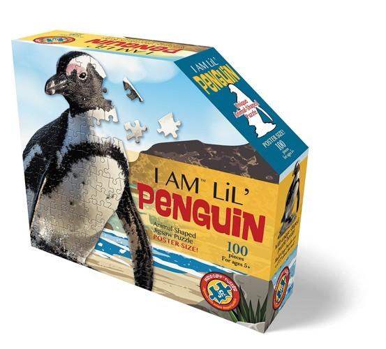 Konturpuzzle Jr. Pinguin (100 Teile)