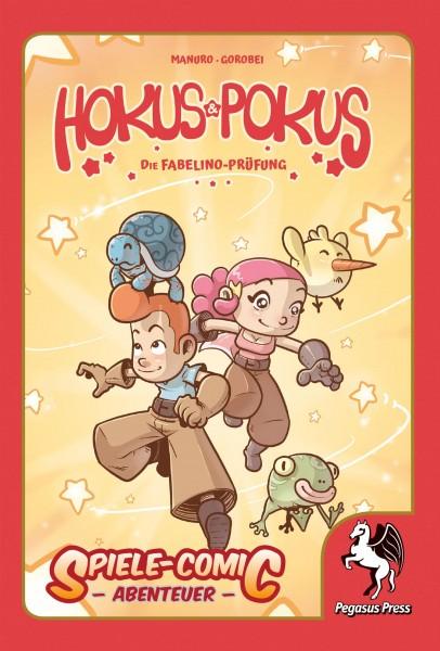 Spiele-Comic Abenteuer: Hokus Pokus (Hardcover)