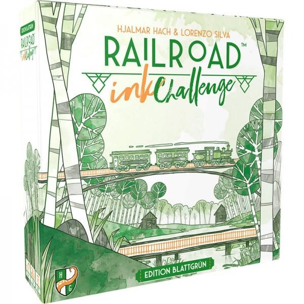 Railroad Ink Challenge: Edition Blattgrün