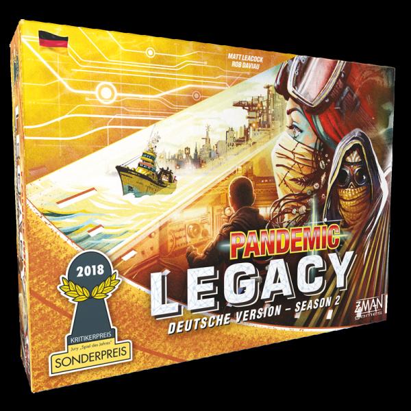 Pandemic Legacy - Season 2 - GELB