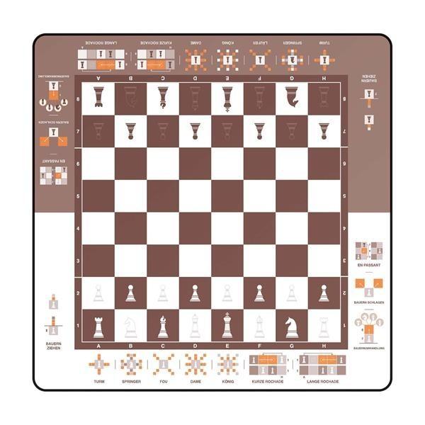"""Spielmatte """"Einfach Schach"""""""