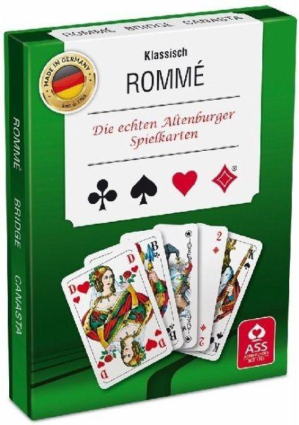 Rommé, französisches Bild
