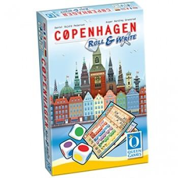 Copenhagen – Roll & Write - EN/DE/FR/NL