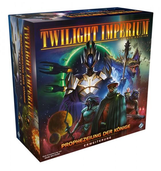 Twilight Imperium 4.Ed. - Prophezeiung der Könige - Erweiterung DE