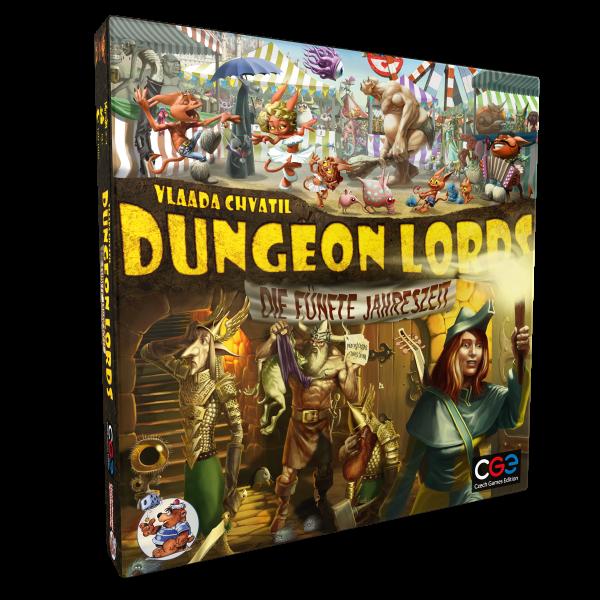 Dungeon Lords - Die fünfte Jahreszeit • Erweiterung
