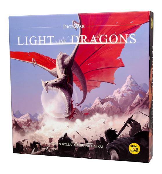 DiceWar - Light of Dragons - Basisspiel, 2. Edition