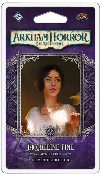 Arkham Horror: LCG - Jacqueline Fine • Ermittlerdeck DE