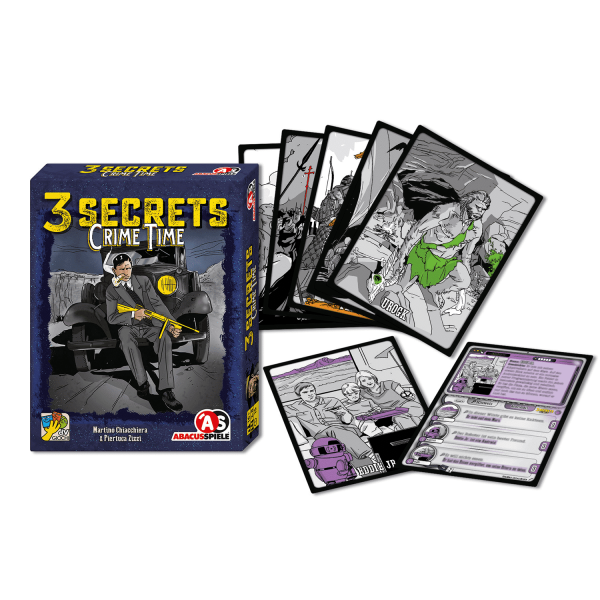 3 Secrets – Crime Time