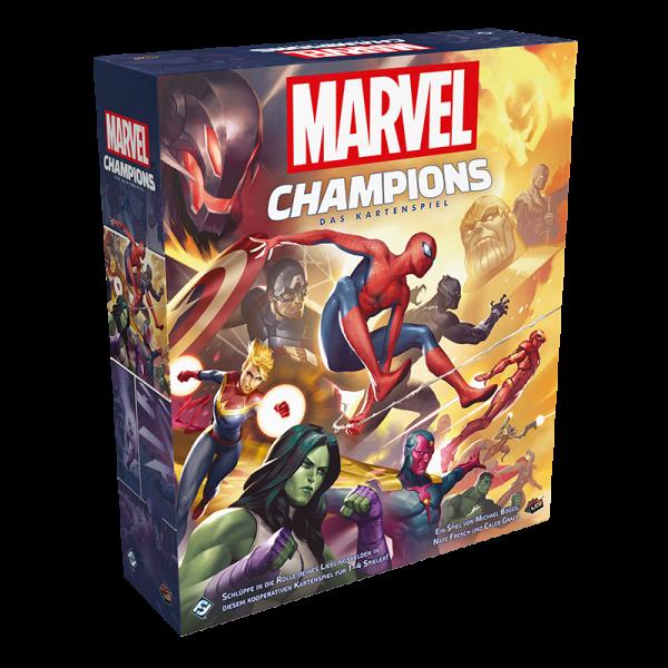 Marvel Champions: Das Kartenspiel - Grundspiel DE