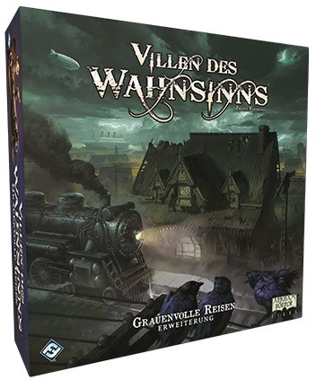 Villen des Wahnsinns 2.Ed. - Grauenvolle Reisen • Erweiterung DE