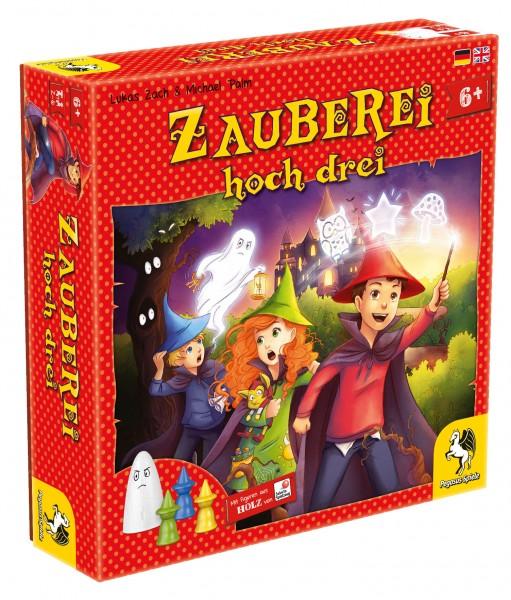 Zauberei hoch drei - Empfohlen Kinderspiel 2017