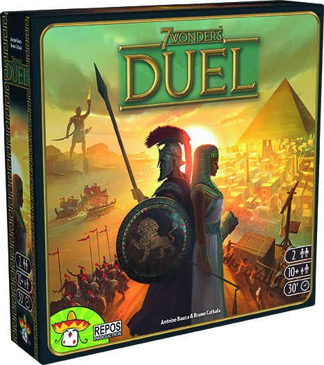7 Wonders - Duel Grundspiel