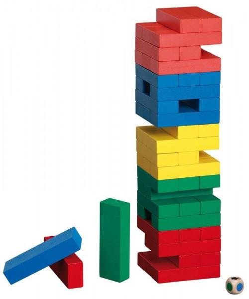Verflixter Turm, bunt