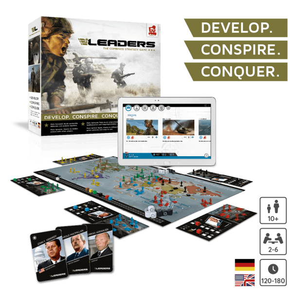 LEADERS - The combined strategy game - DE,EN