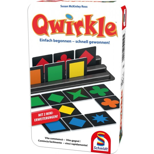 Qwirkle (Metalldose)