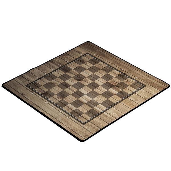 """Spielmatte Schach """"Holzoptik"""""""