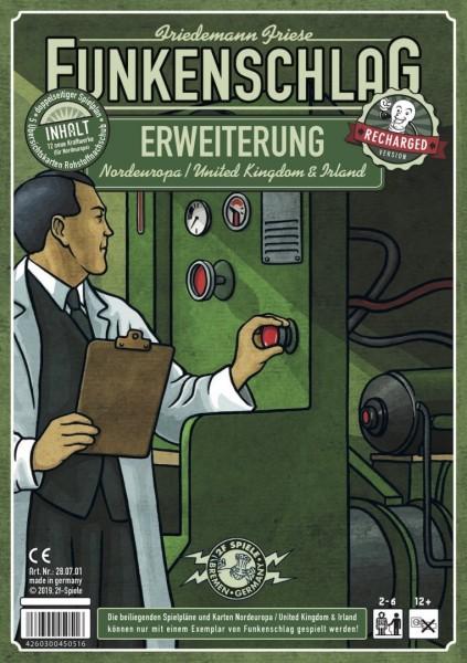 Funkenschlag Erw. 8 (Recharged Version): Nordeuropa / United Kingdom & Irland