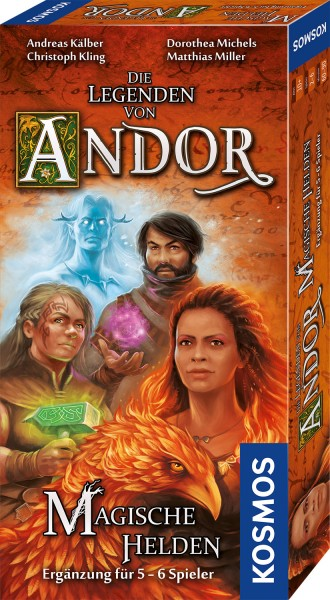 Die Legenden von Andor - Magische Helden-Ergänzung für 5-6 Spieler