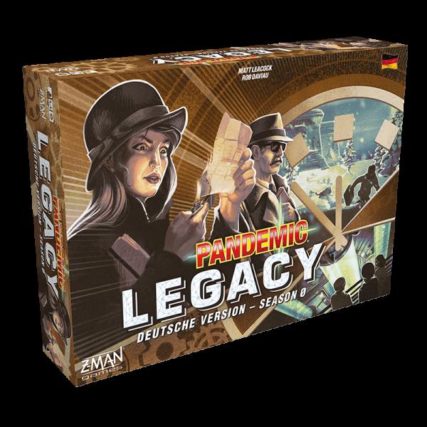 Pandemic Legacy - Season 0 - DE