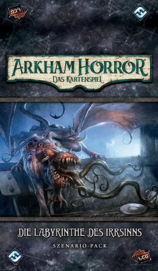 Arkham Horror: LCG - Die Labyrinthe des Irrsinns • Szenario-Pack DE