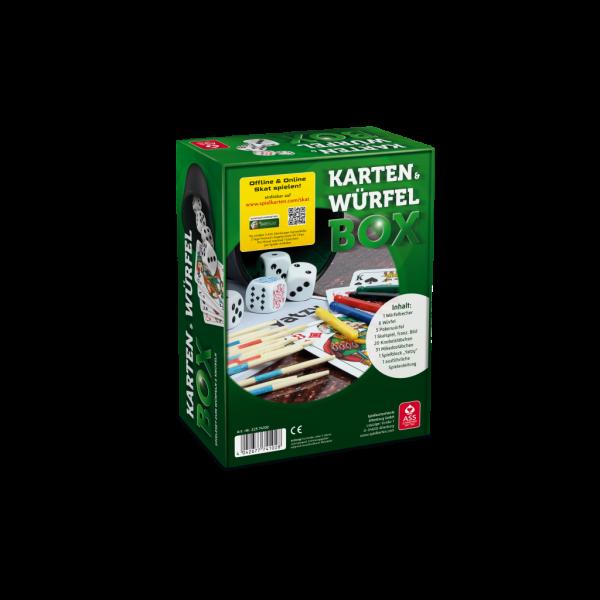Würfel - und Kartenbox