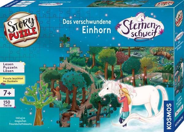 Story - Puzzle: Sternenschweif - Das verschwundene Einhorn (150 Teile)