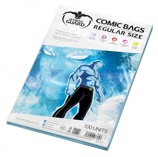 Ultimate Guard: Comic Bags Regular Size (100)