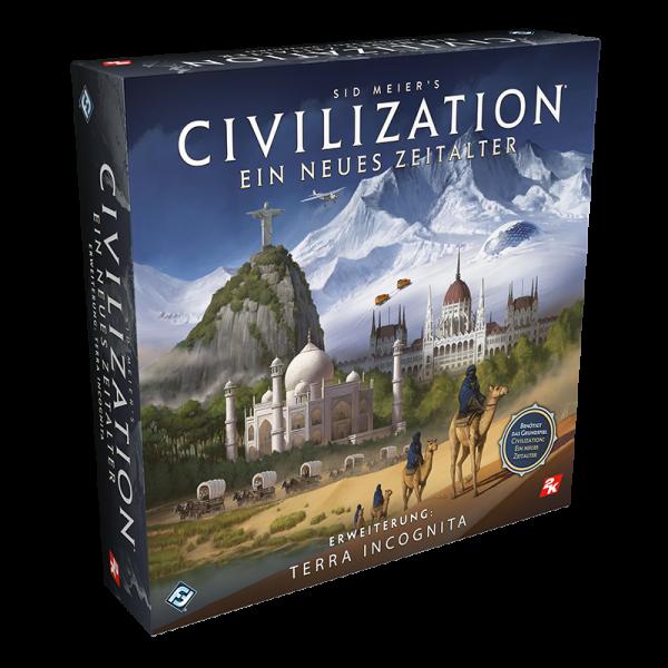 Civilization: Ein neues Zeitalter - Terra Incognita - Erweiterung DE