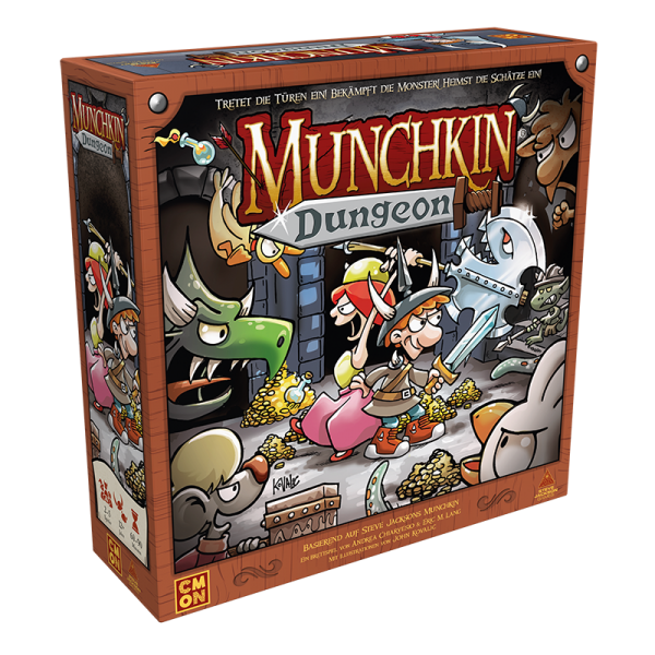 Munchkin Dungeon - DE