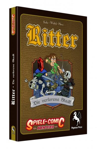 Spiele-Comic Abenteuer: Ritter - Die verlorene Stadt (Hardcover)