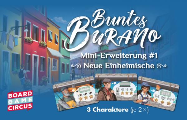 Buntes Burano - Neue Einheimische - Mini-Erweiterung No. 1